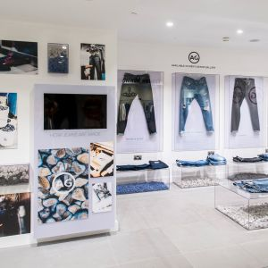 AG Jeans in Harrods